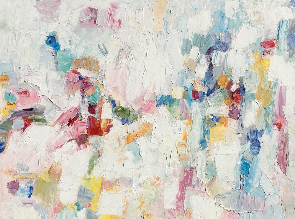"""Rhapsody"" original fine art by Nava Judith"