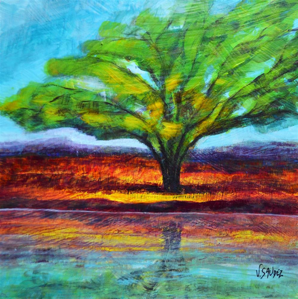 """""""Summer"""" original fine art by Véronique Saudez"""
