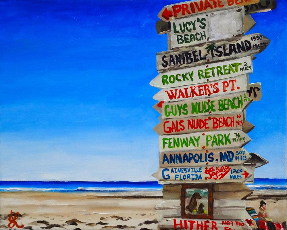 """Maine beach."" original fine art by Jacinthe Rivard"