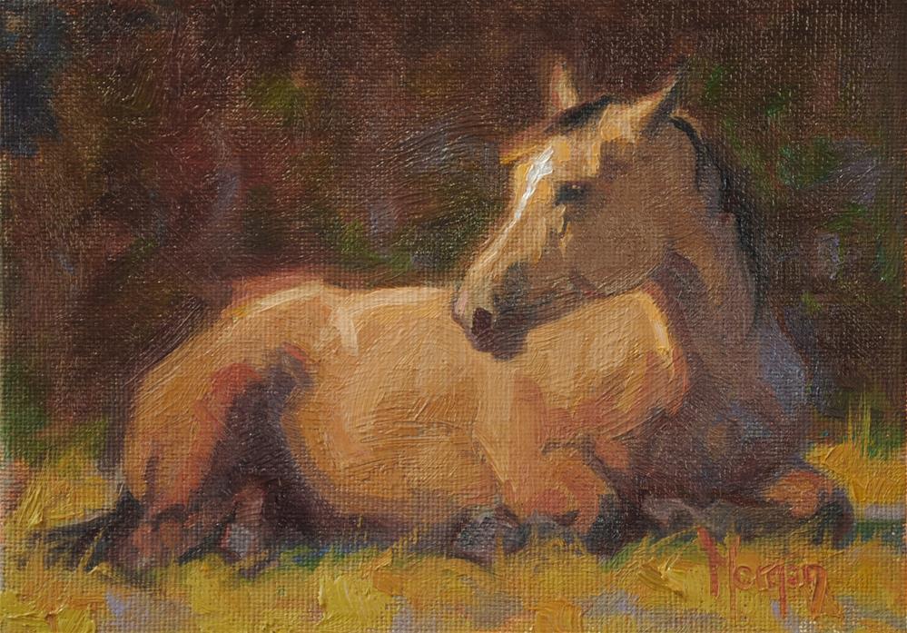 """""""Quietude"""" original fine art by Cecile W. Morgan"""