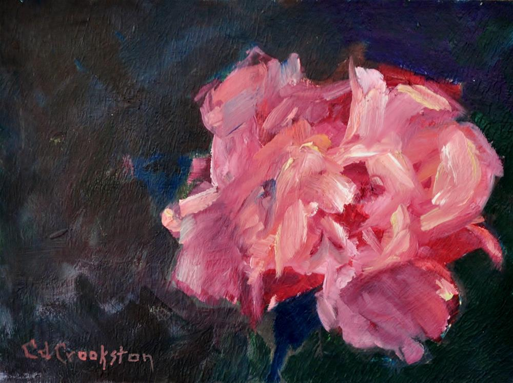 """""""The Forever Rose"""" original fine art by Catherine Crookston"""