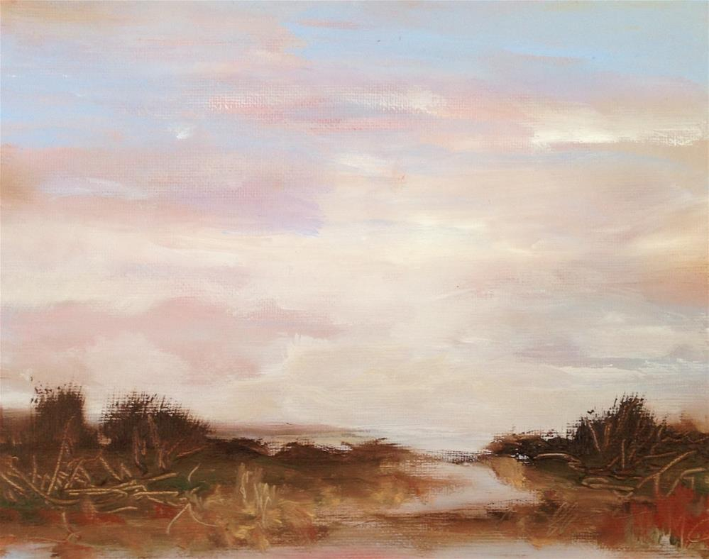 """Autumn dunes"" original fine art by christina glaser"