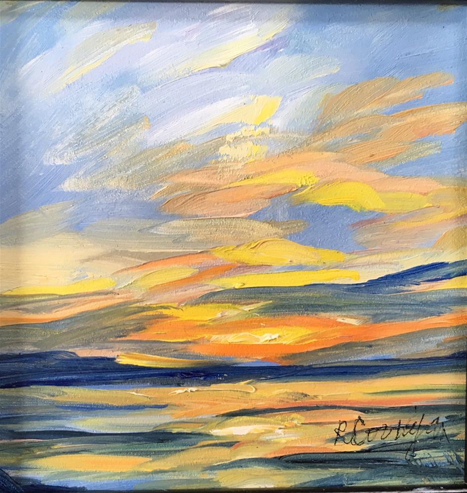 """Golden Light"" original fine art by Rita Corrigan"
