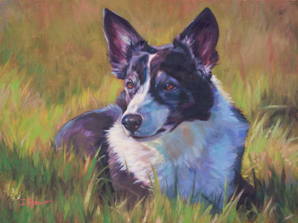 """Bree"" original fine art by Deborah Savo"