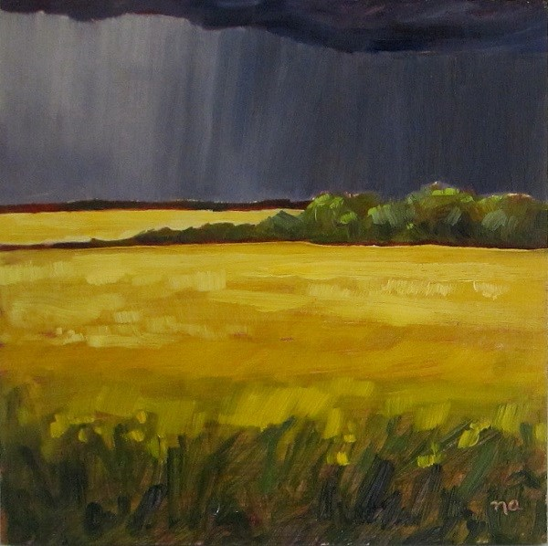 """The Storm"" original fine art by Nicki Ault"