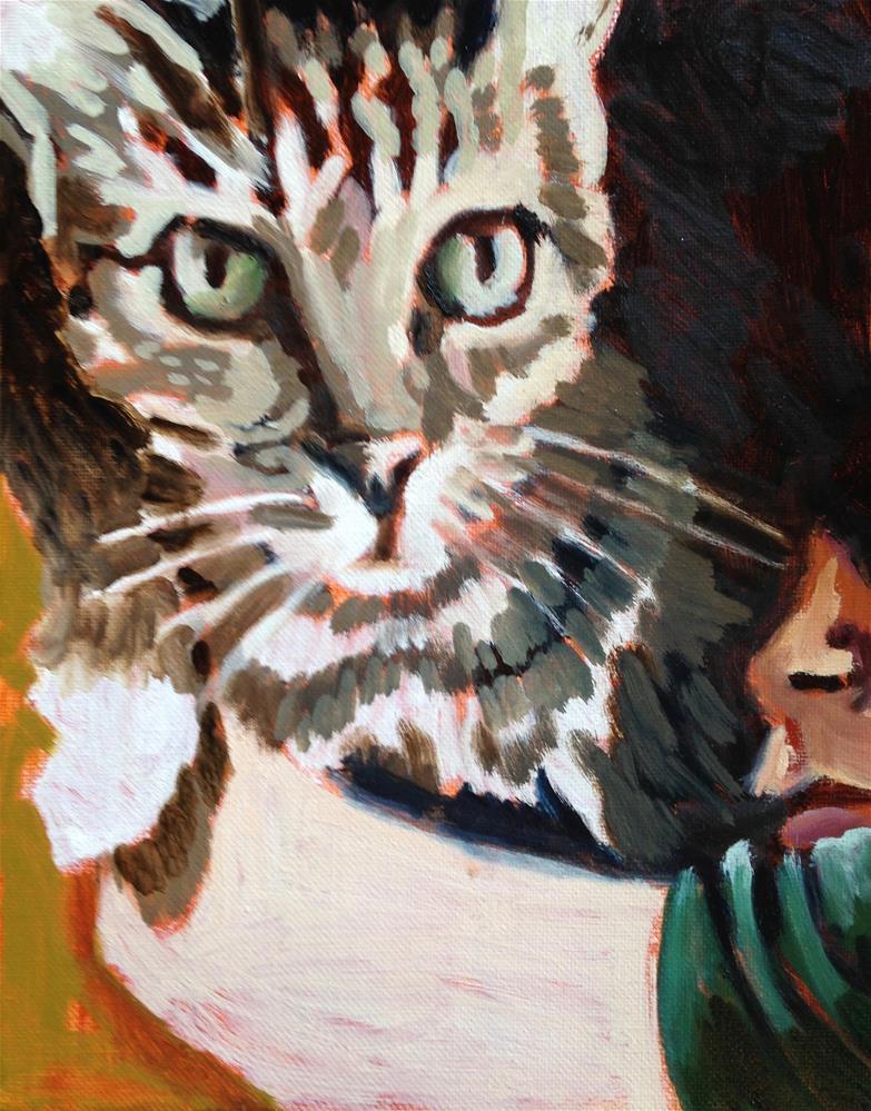 """Big Love"" original fine art by Pamela Hoffmeister"