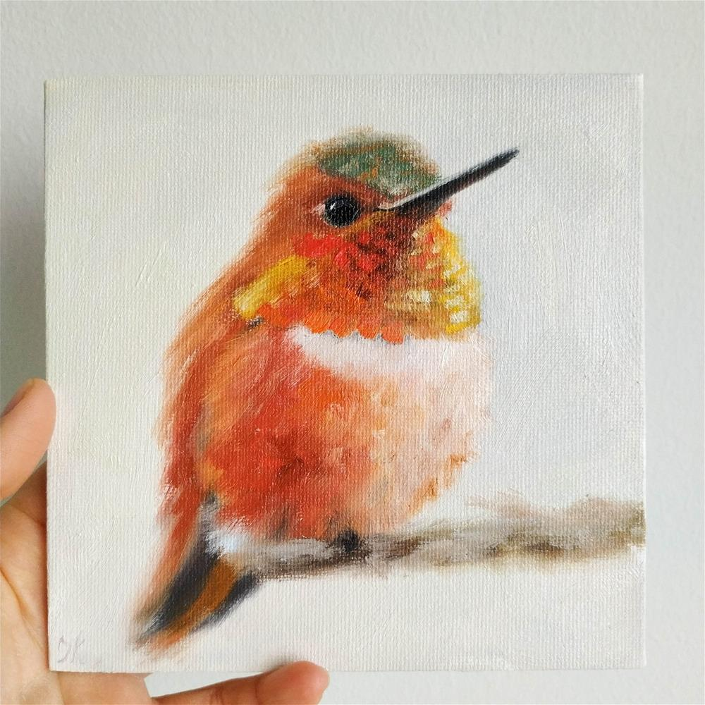 """Tiny Friend"" original fine art by Iryna Khort"