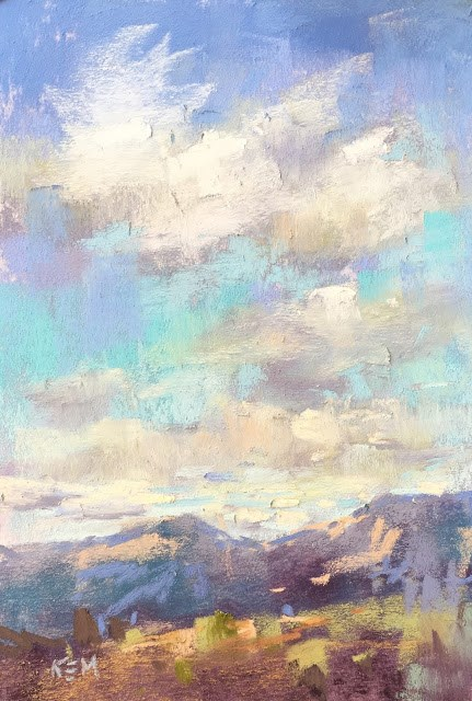 """""""Five things I learned from an Art Road Trip"""" original fine art by Karen Margulis"""