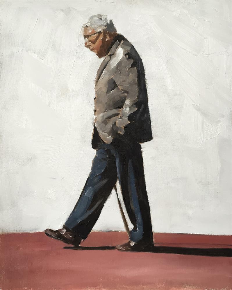 """Walk in the Sun"" original fine art by James Coates"