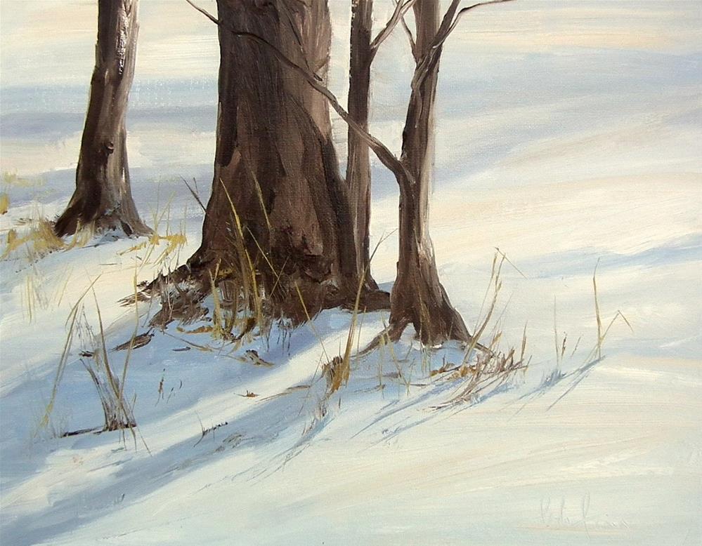 """Evening Quiet Shadows"" original fine art by kay  keyes farrar"