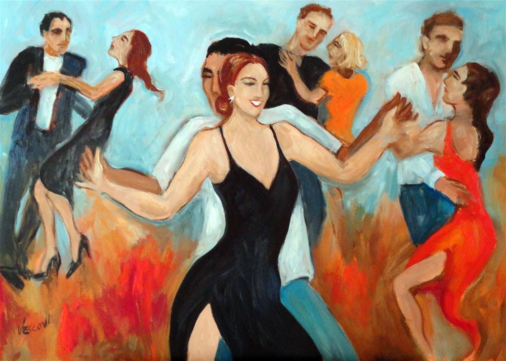 """Angie"" original fine art by Valerie Vescovi"