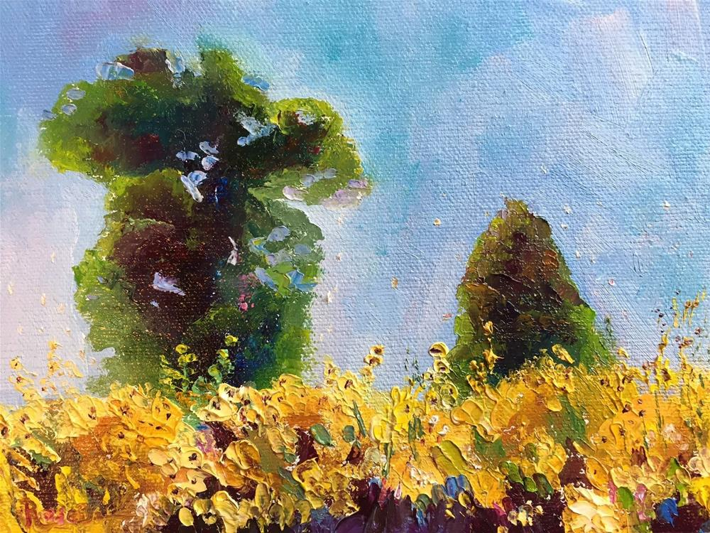 """The Farmer's Field"" original fine art by Rose Brenner"