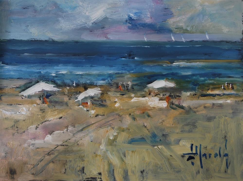 """Hilton Head Island"" original fine art by Deborah Harold"