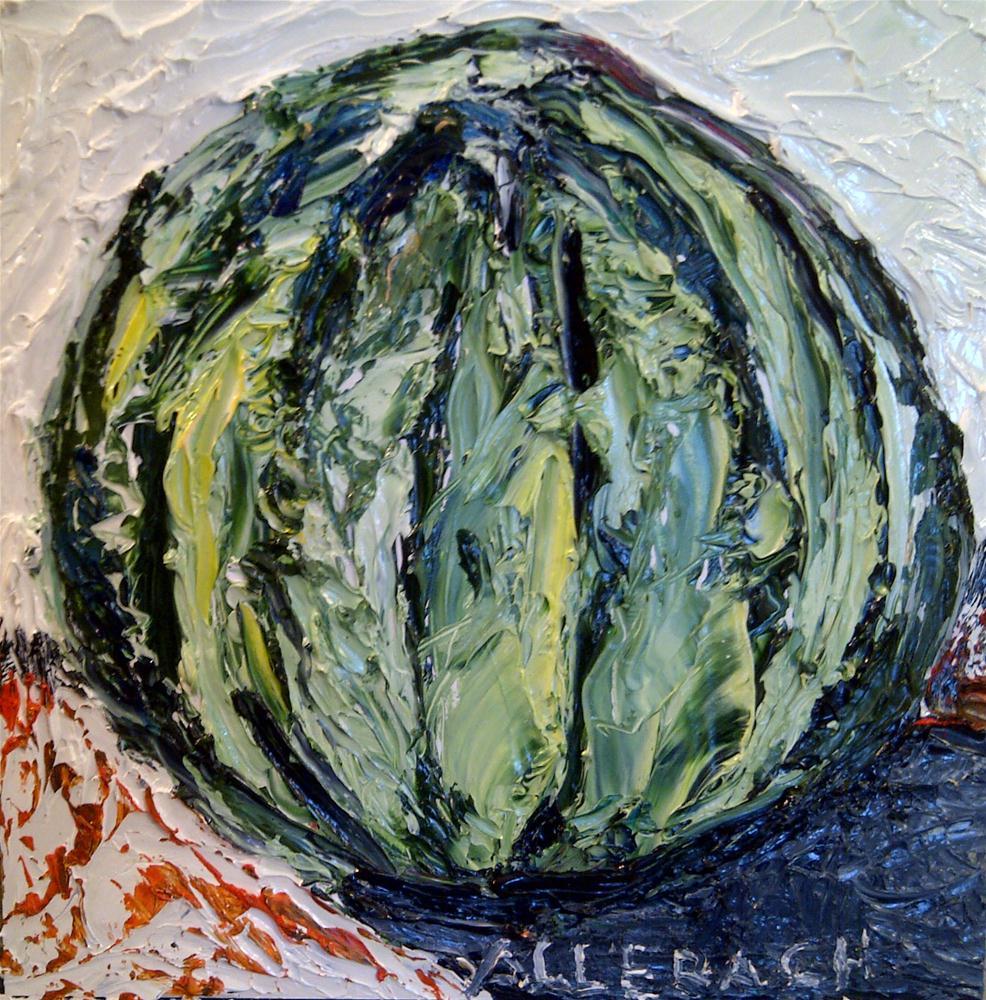 """""""small watermelon"""" original fine art by Jo Allebach"""
