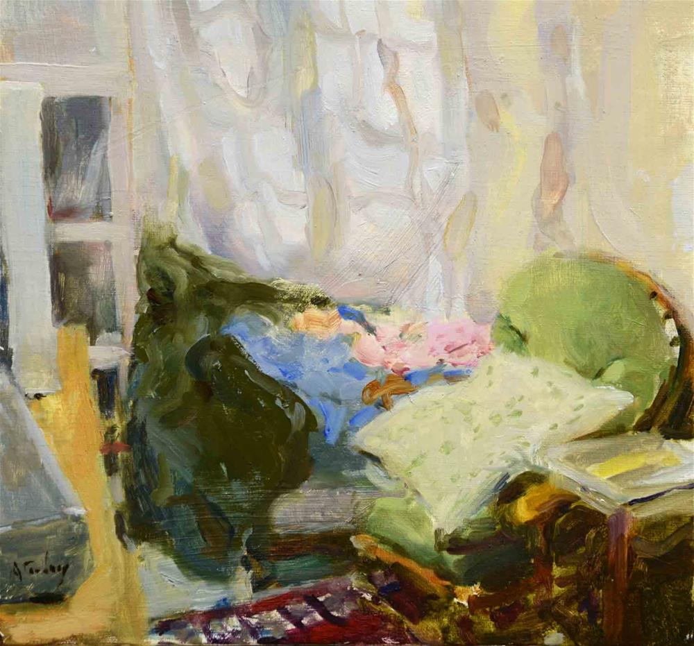 """""""Bedroom Abstract"""" original fine art by alicia tredway"""