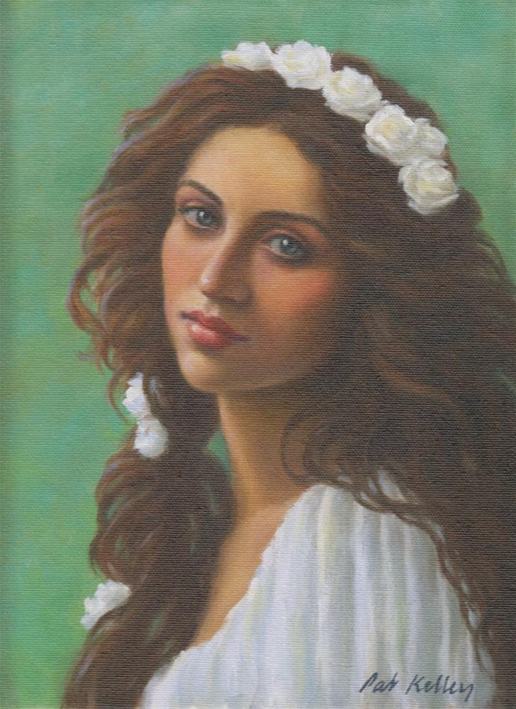 """Persephone"" original fine art by Pat Kelley"