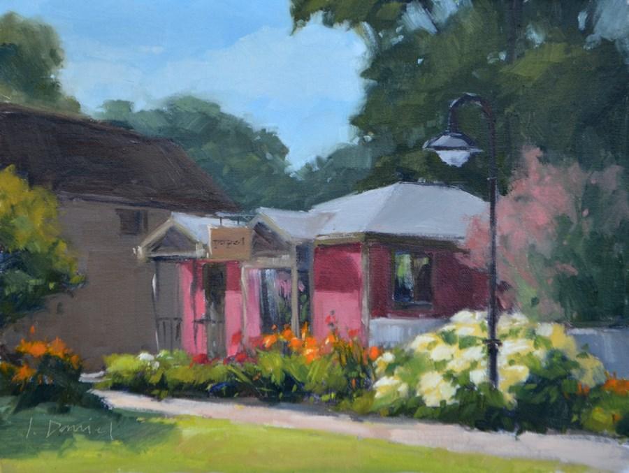 """Painting Papel - Door County Plein Air Festival"" original fine art by Laurel Daniel"