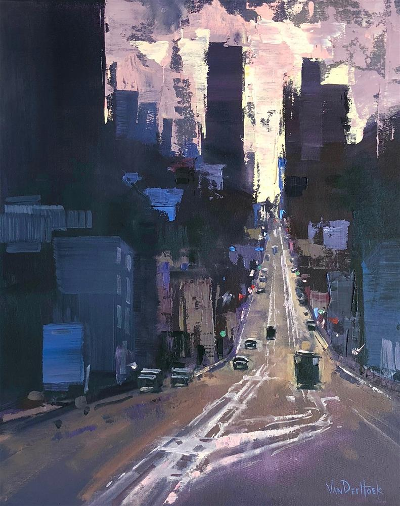 """Up and Coming"" original fine art by Kim VanDerHoek"
