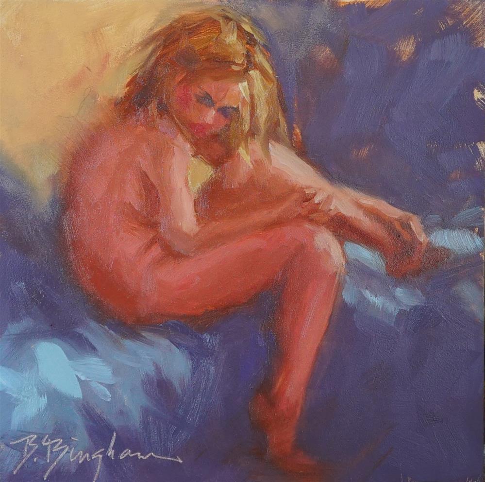 """Looking Back"" original fine art by Bruce Bingham"