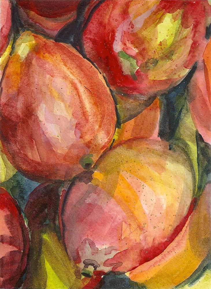 """Mangos 1/17/15"" original fine art by Jean Krueger"