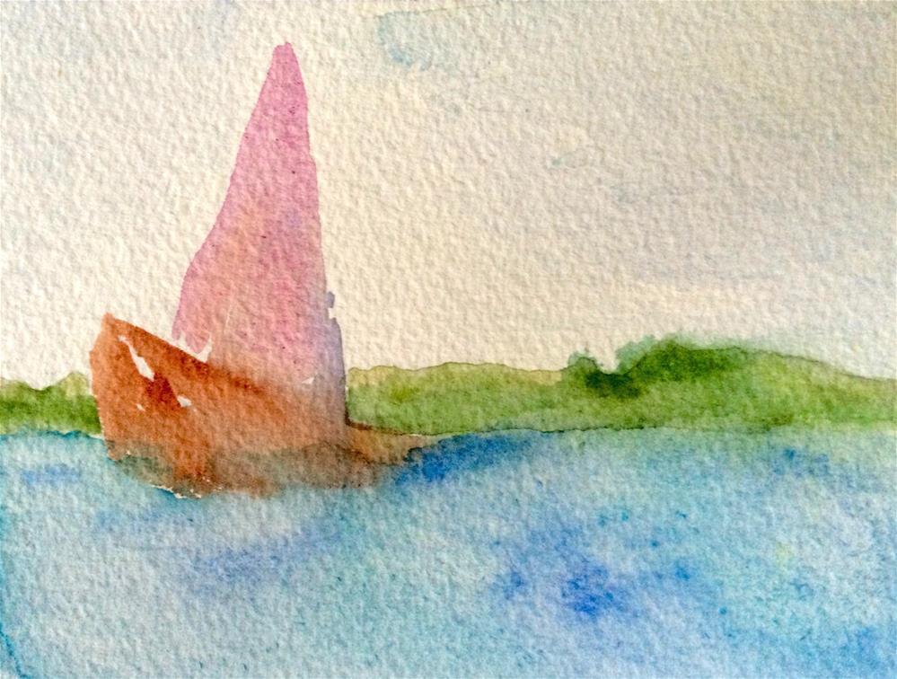 """Cruising"" original fine art by Susan Medyn"