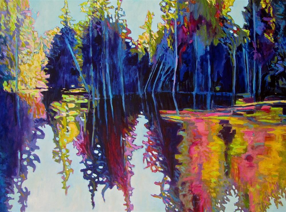 """""""Ontario Northland"""" original fine art by Patricia MacDonald"""