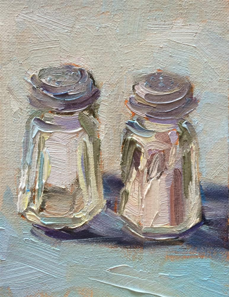 """Twins"" original fine art by Naomi Bautista"