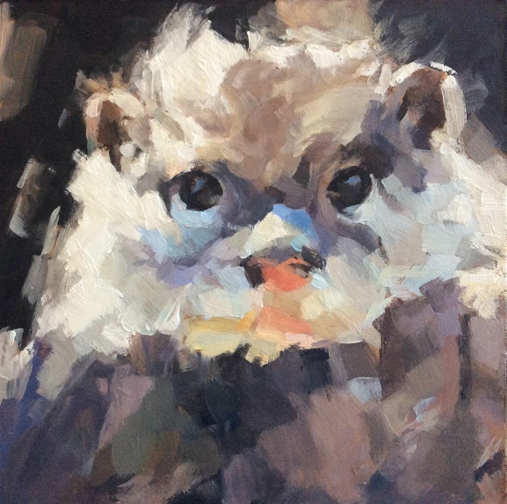 """""""Critter"""" original fine art by Paula Howson-Green"""