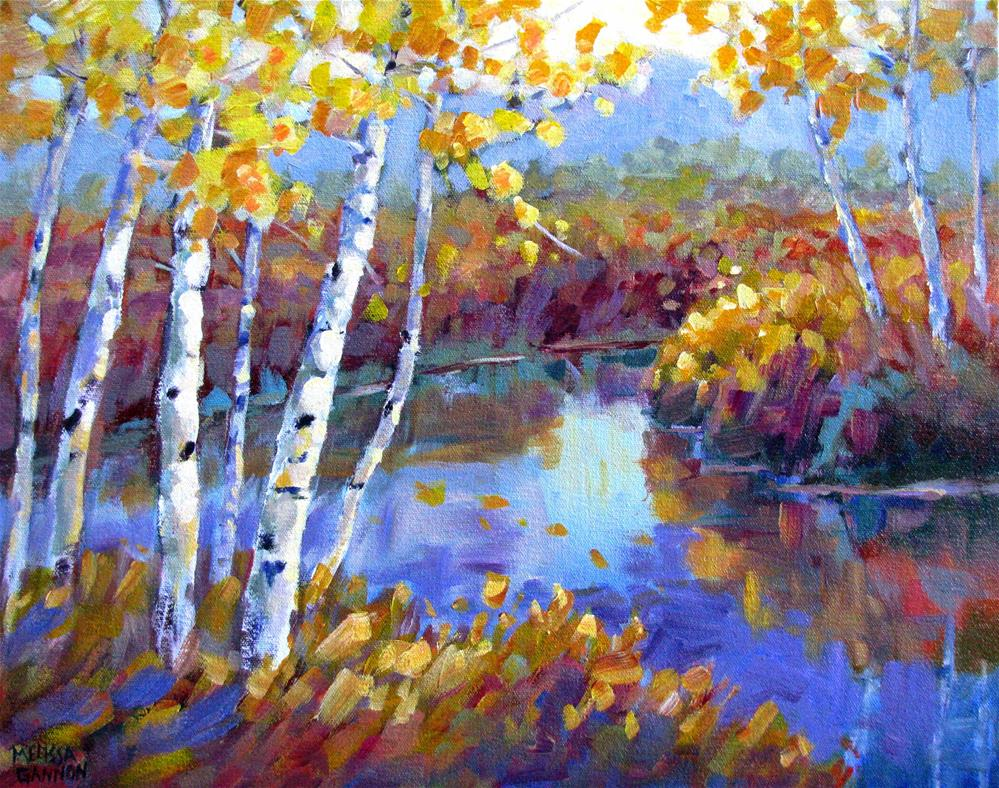 """Full Color Autumn"" original fine art by Melissa Gannon"