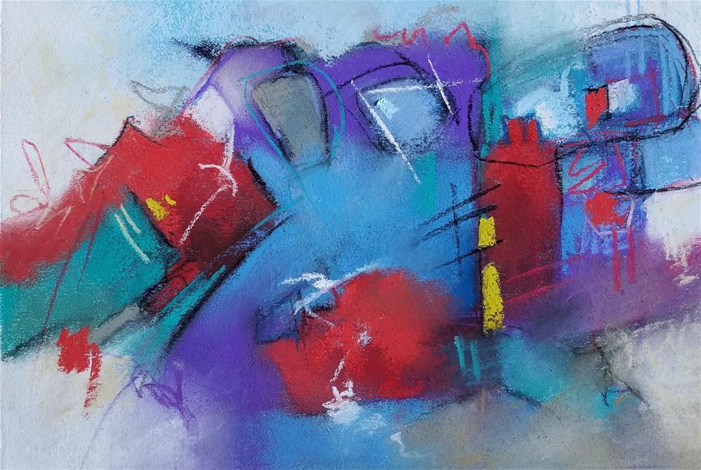 """Untitled 226"" original fine art by Cindy Haase"