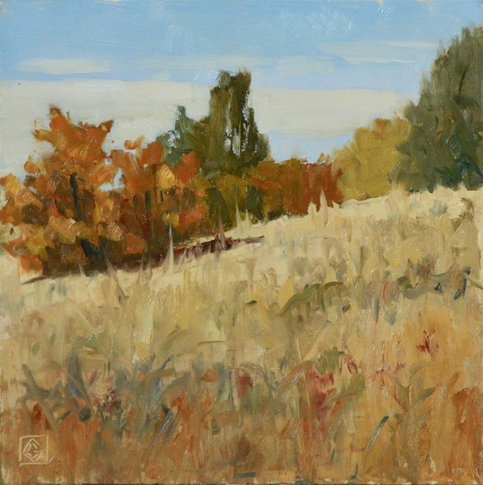 """Autumn Begins"" original fine art by Carol Granger"
