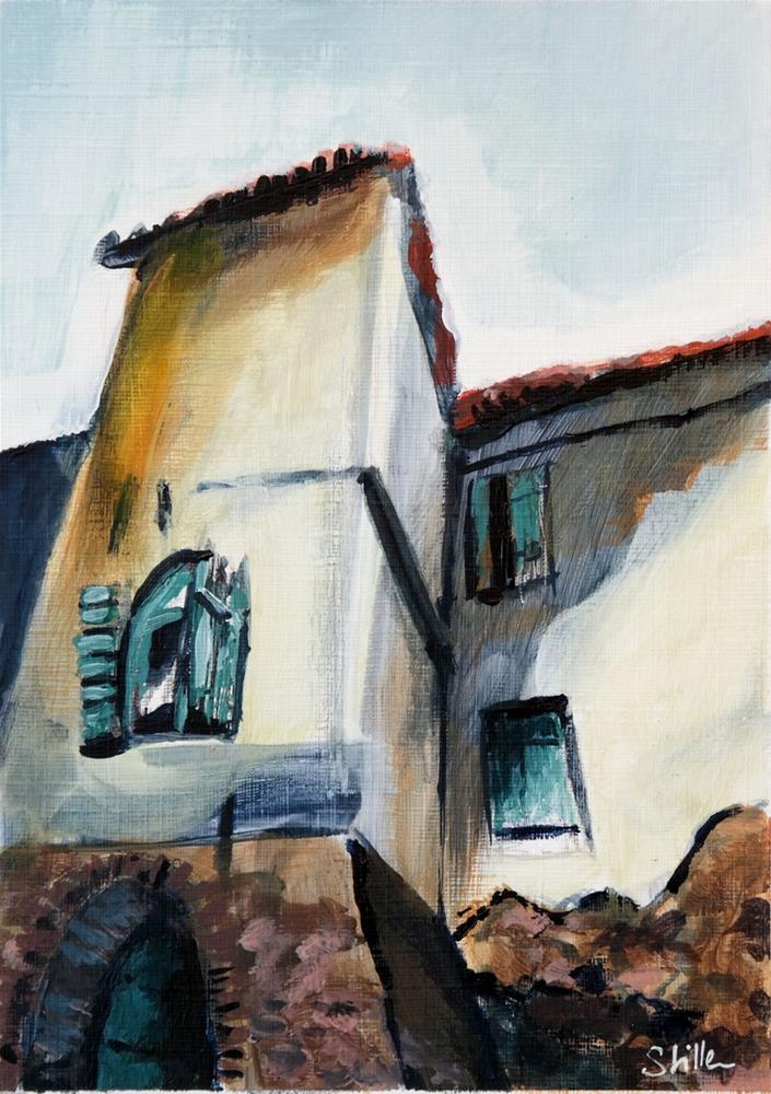 """2112 Winery House"" original fine art by Dietmar Stiller"