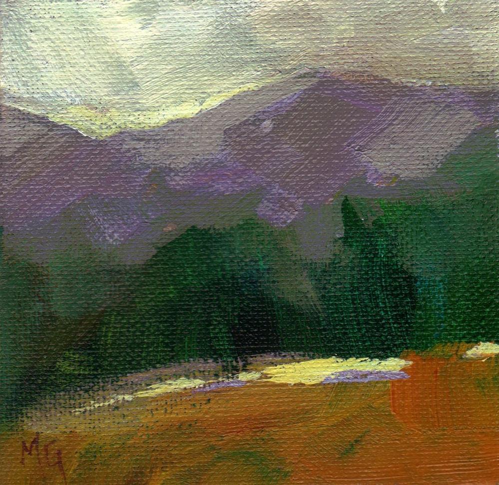 """Landscape Dreaming"" original fine art by Melissa Gannon"