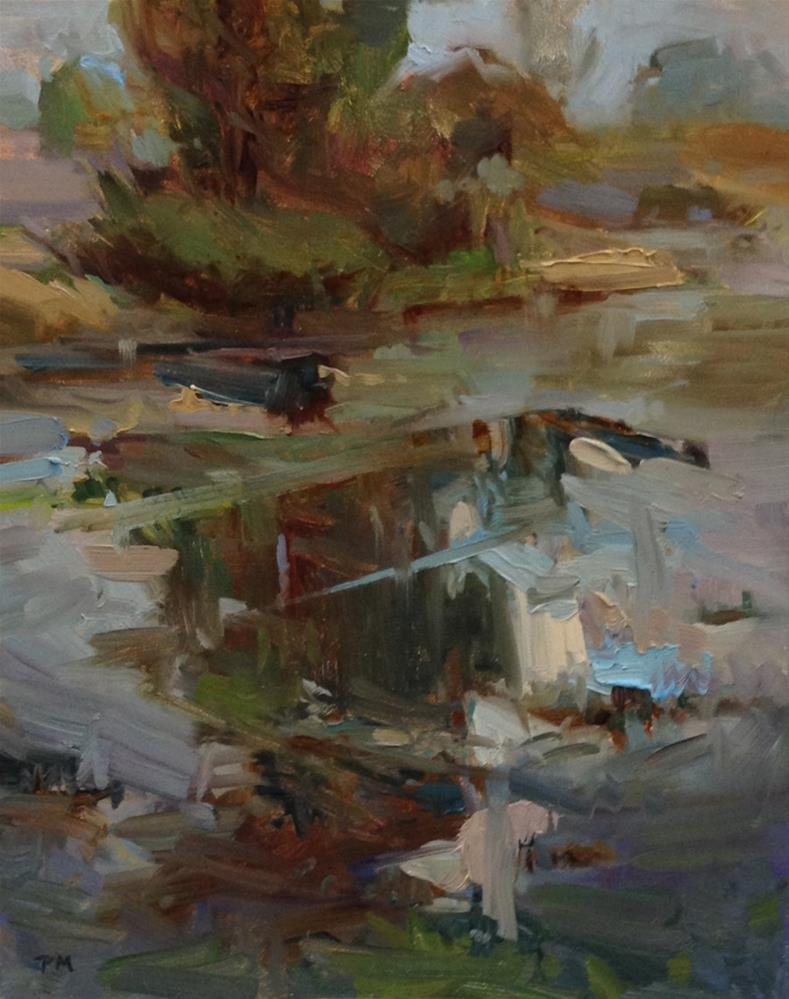 """On Golden Ponds"" original fine art by Patti McNutt"