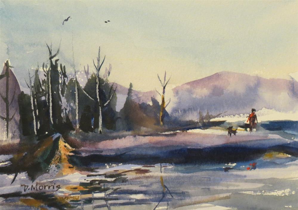 """""""Fresh Air"""" original fine art by Dann Morris"""