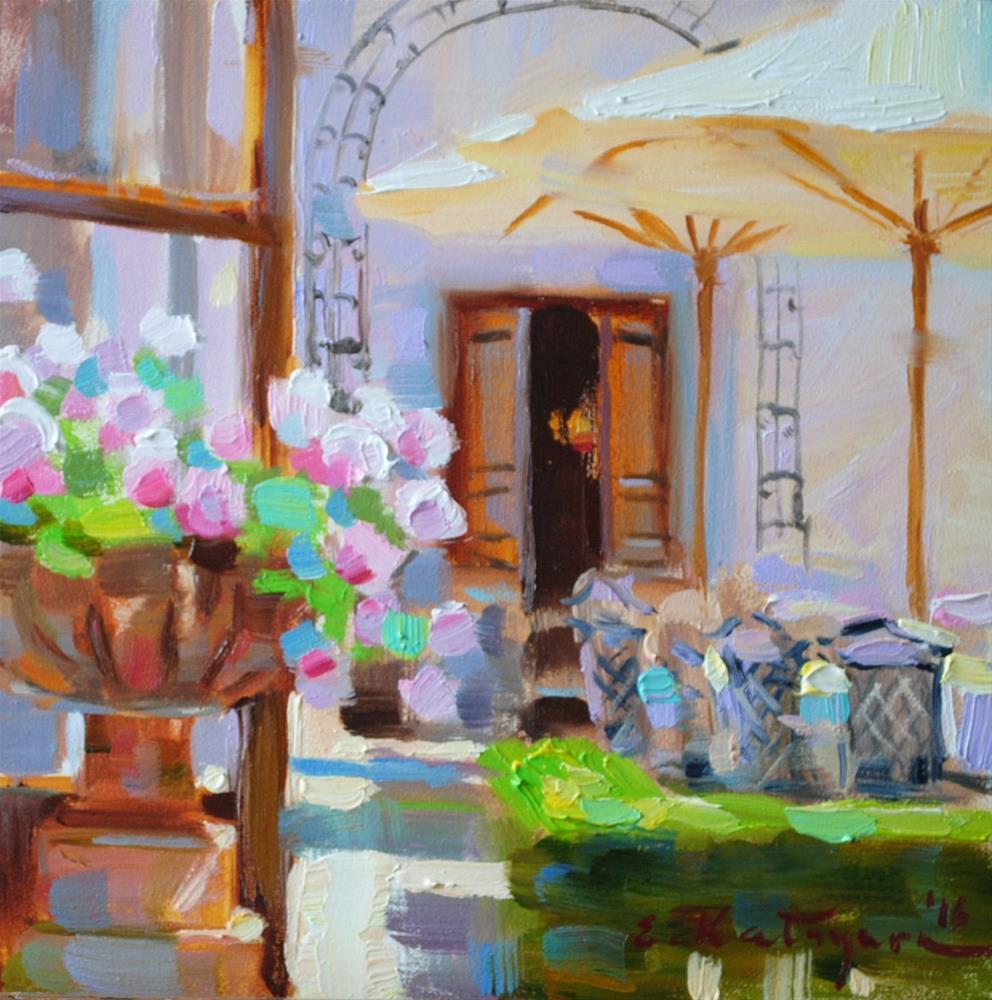 """Sunshine"" original fine art by Elena Katsyura"