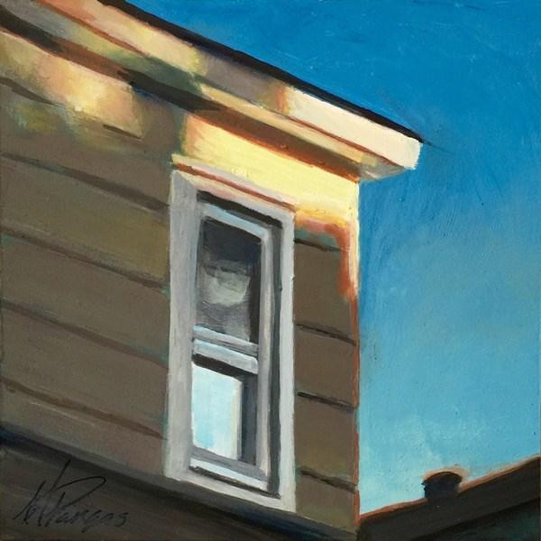 """Lemony Light"" original fine art by Mary Pargas"