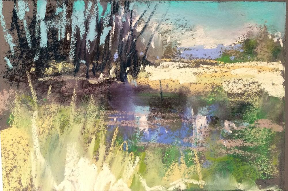 """Smith Bybee Afternoon"" original fine art by Marla Baggetta"