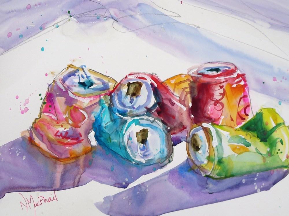 """crush"" original fine art by Nora MacPhail"