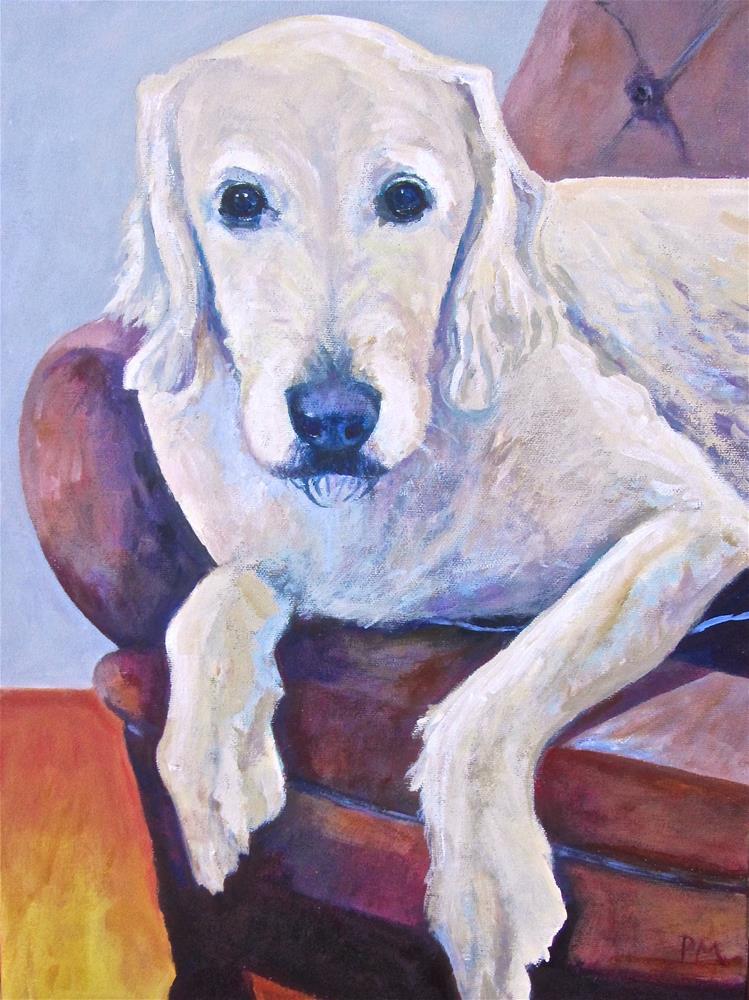 """Blake One"" original fine art by Patricia MacDonald"