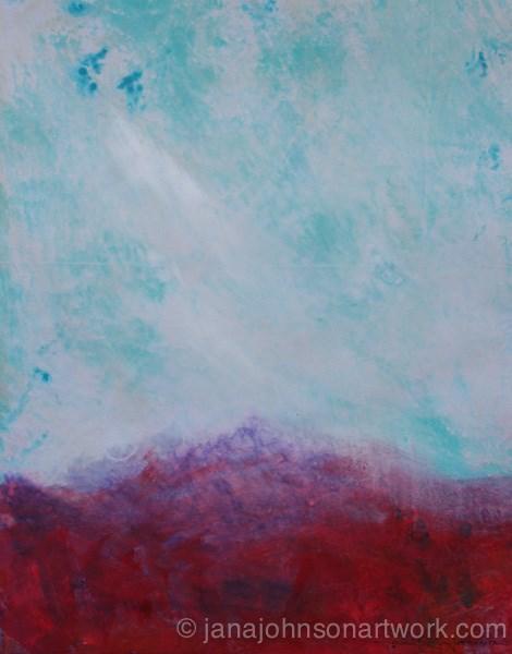 """Poppy Fields 2"" original fine art by Jana Johnson"