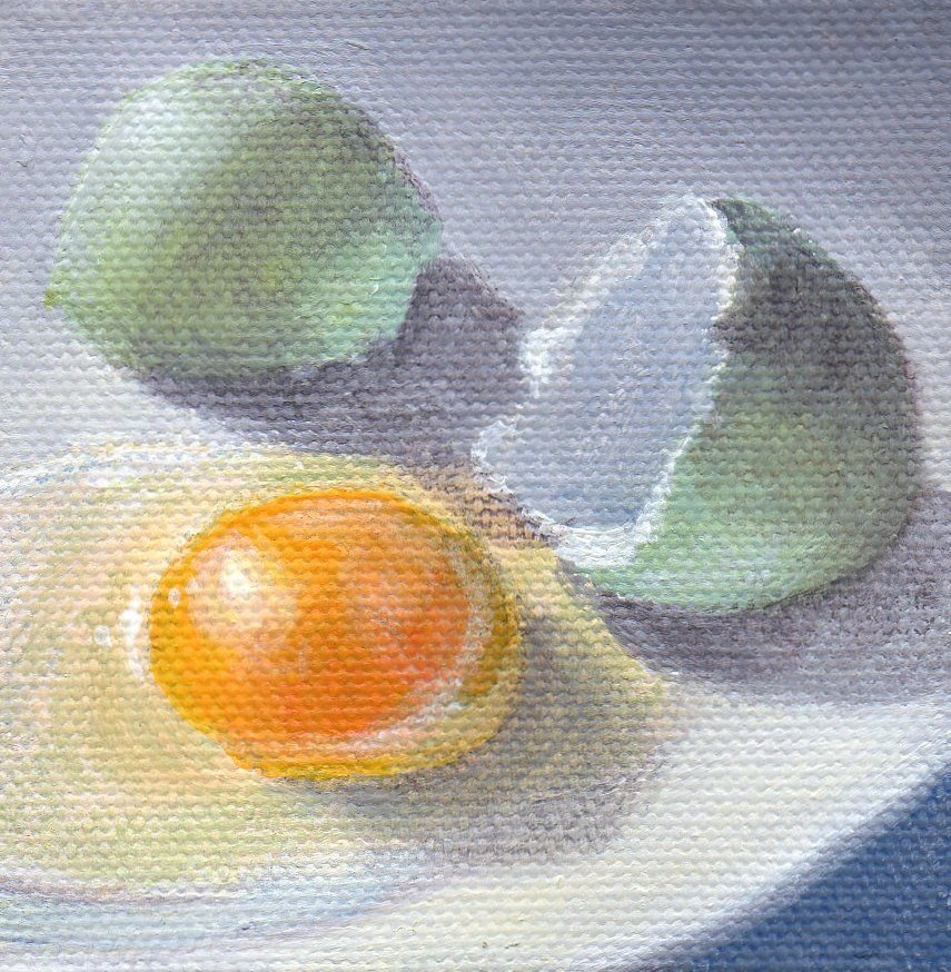 """Broken"" original fine art by Debbie Shirley"