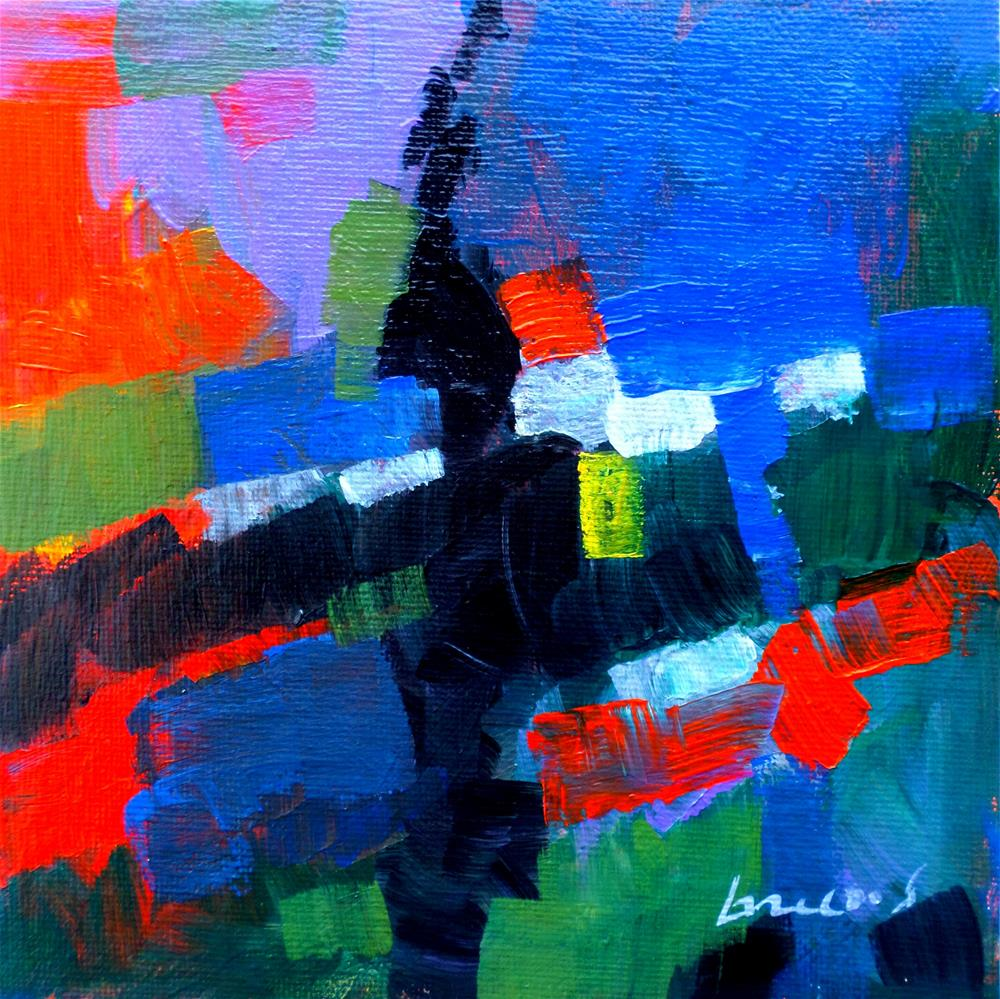 """""""Abstrac"""" original fine art by salvatore greco"""