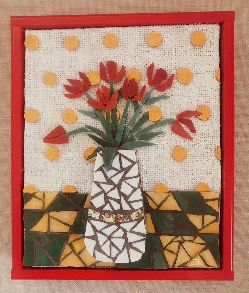 """""""Tulips"""" original fine art by Joetta Currie"""