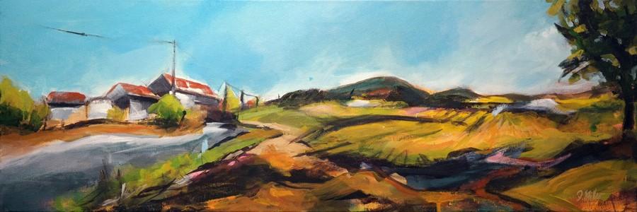 """2652 Landscape TwoFourSixTwo"" original fine art by Dietmar Stiller"