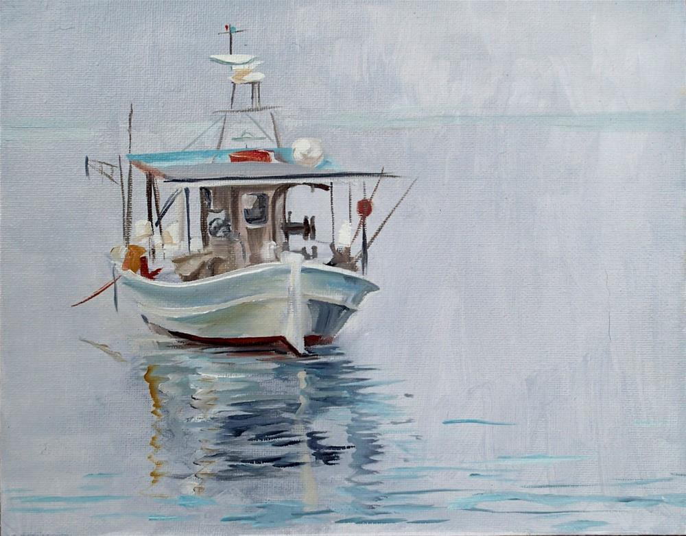 """""""Calm Waters"""" original fine art by Lauren Kuhn"""
