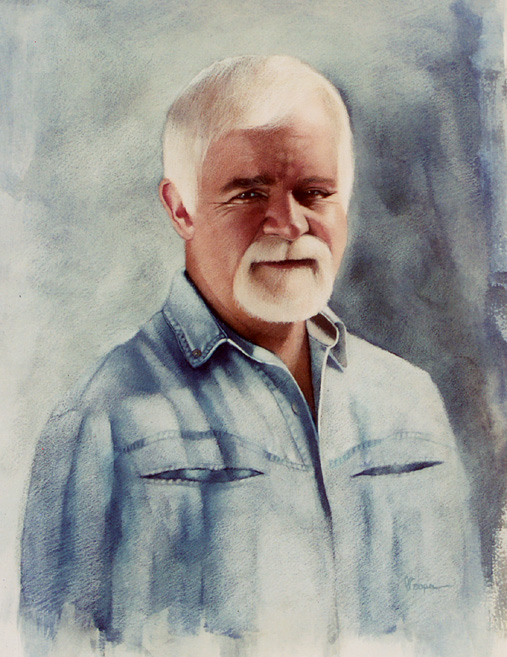 """Paul Guthrie Neilson a portrait painting"" original fine art by Diane Hoeptner"
