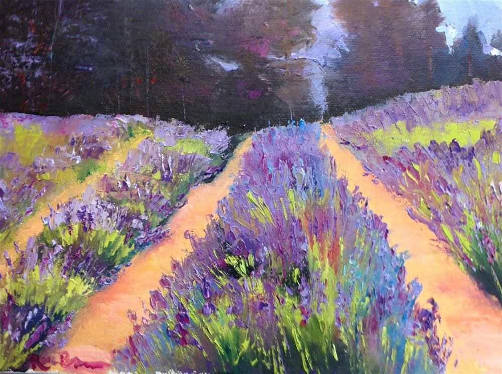 """""""Lavender Day"""" original fine art by Rose Brenner"""
