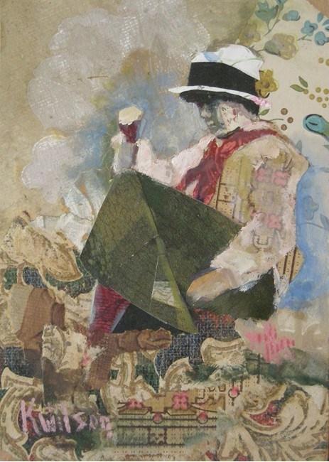 """Mumble the Peg"" original fine art by Katie Wilson"