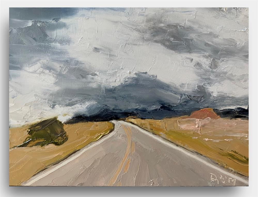 """805 Spacious Skies"" original fine art by Jenny Doh"
